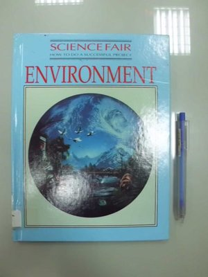 6980銤:A8-3☆1992年『ENVIRONMENT』原文 英文童書