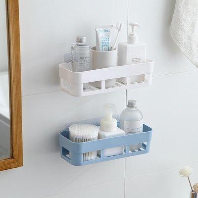 廚房 收納免打孔衛生間浴室置物架壁掛洗手廁所洗漱臺瀝水架廚房用品收納盒