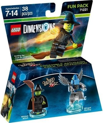 Lego Dimensions 71221 Fun Pack: Wicked Witch 全新