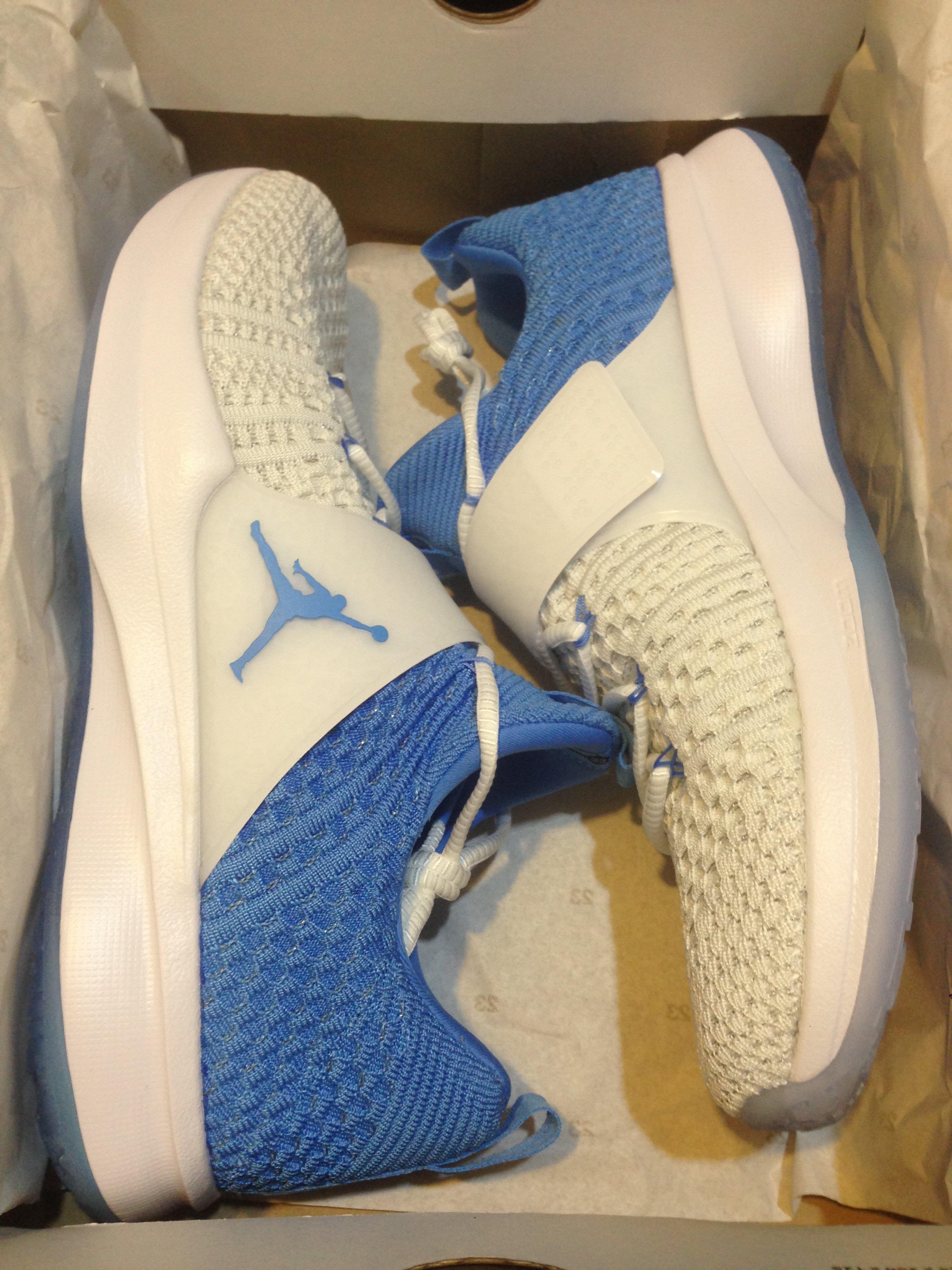 預購 NIKE Air Jordan Trainer 2 Flyknit 'UNC' 北卡藍訓練鞋