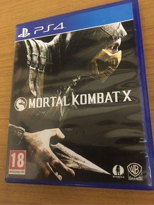 PS4 真人快打X mortal combat x 實體光碟 英文版 英文 只出英文