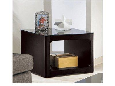 【DH】商品貨號G784-3商品名稱《克巴》65CM小方几(圖一)桌面 10mm強化烤漆玻璃。備大方几另計主要地區免運費 基隆市