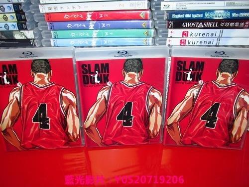 PS3/PS4/BD/藍光影片 卡通動畫 -灌籃高手 BOX3 全3張 50G版 42-61 繁體中字