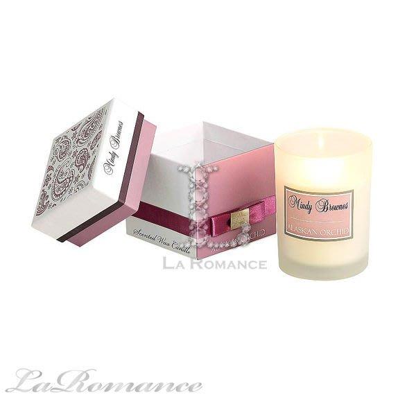 【Mindy Brownes】精品香氛系列之 Scented Wax Candle 單入大蠟燭 - 阿拉斯加蘭花