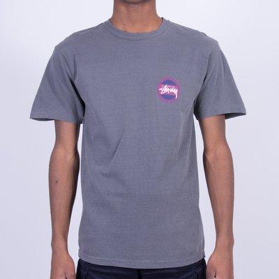 (預購商品) Stussy Pigment Dyed Surf Dot 灰色 印花 LOGO 短袖 圓領 短T 上衣