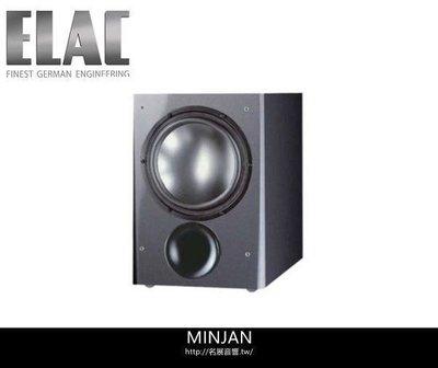 【尼克放心】ELAC德國精品 超重低音喇叭SUB111.2(SW黑色/TI鐵灰)-支