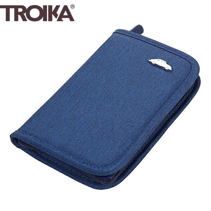 又敗家@德國TROIKA防盗錄RFID手拿包NFC信用卡旅遊証件護照包WAL20福斯Volkswagen金龜車防感應錢包
