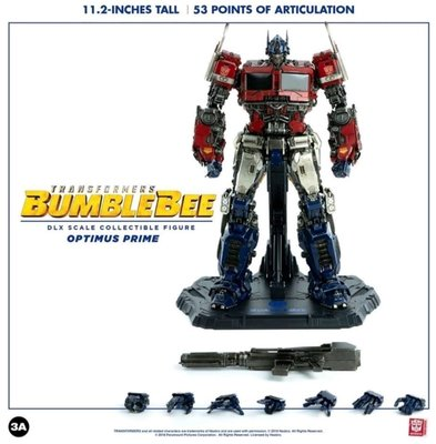 現貨 全新未開 3A DLX Scale Transformers  bumblebee Movie Optimus Prime 柯柏文