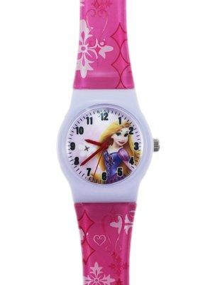 【卡漫迷】 樂佩 公主 卡通錶 M ㊣版 長髮姑娘 魔髮奇緣 手錶 兒童錶 女錶 膠錶 迪士尼