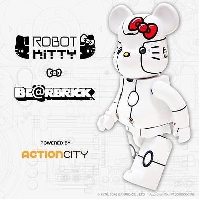 金錢貓雜貨 全新 Bearbrick 400% Robot Hello Kitty 機器凱蒂貓