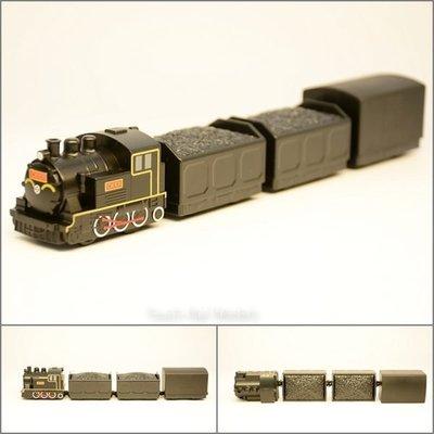 【喵喵模型坊】TOUCH RAIL 鐵支路 Q版小列車 CK101 煤車篷車列車  (QV062T2)