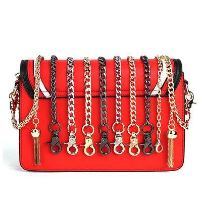 禧禧雜貨店-高檔包包鏈條肩帶配件包鏈子單肩斜跨鏈條女包帶子金屬鐵鏈子單買