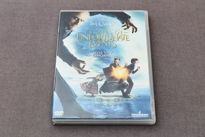 [二手電影DVD] A Series of Unfortunate Events / 波特萊爾的冒險 (2004)
