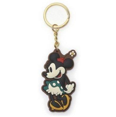尼德斯Nydus~* 日本正版 迪士尼 素面 鑰匙圈 米妮 Minnie 尺寸 H66×W41×D7mm