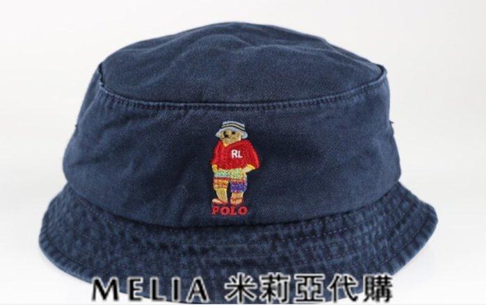 Melia 米莉亞代購 美國店面+網購 Ralph Lauren Polo 潮流帽 漁夫帽 休閒小熊刺繡 衝評價