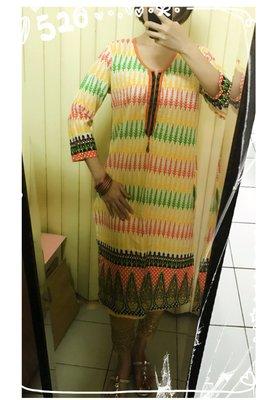 6. 清新森林系庫塔 Designer's Kurta (庫緹 Kurti) 印度舞衣服飾 上衣 寶萊塢設計師款