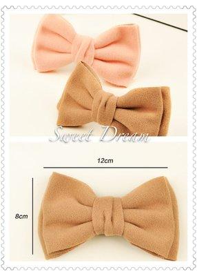 ☆Sweet Dream☆質感織布甜美氣質大蝴蝶結公主馬尾彈力夾(2色)39元  代購 滿399免運