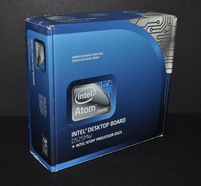 Intel Desktop Borad D525MW主機板 + Atom D525 CPU (559 1.8G 2C)