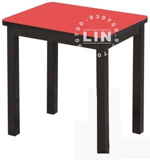 【品特優家具倉儲】884-13餐椅單人烤黑鐵管凳