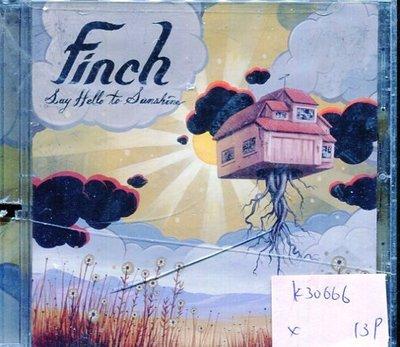 *真音樂* FINCH / SAY HELLO TO SUNSHINE 二手 K30666 (左殼切痕)