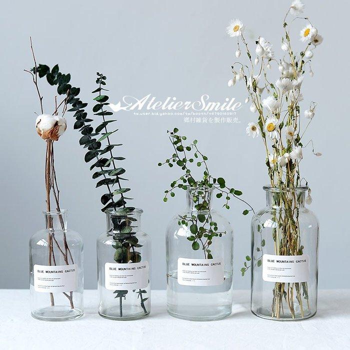[ Atelier Smile ] 鄉村雜貨 北歐風 INS 家居裝飾 透明玻璃花瓶 # 500ML (現+預)