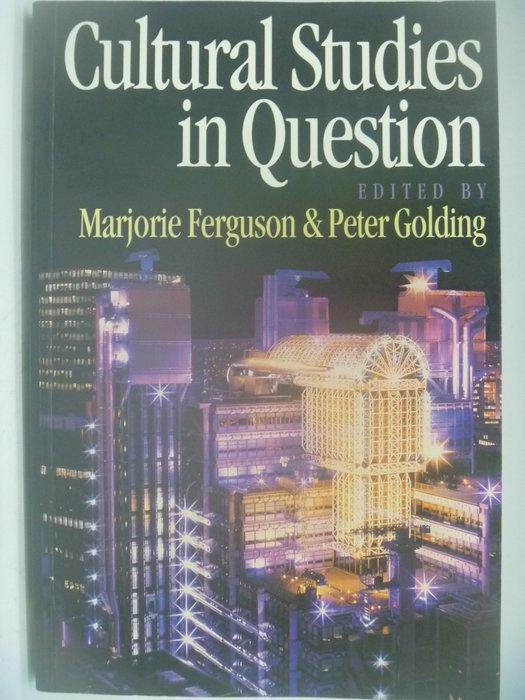 【月界】Cultural Studies in Question_Marjorie Ferguson 〖社會〗AII
