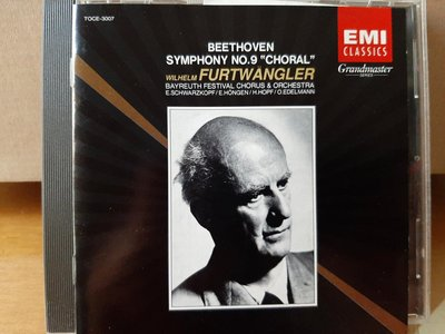 "Furtwangler,Beethoven-Sym No.9""Choral""福特萬格勒指揮貝魯特節慶管弦及合唱團(舒瓦茲柯芙等)演繹貝多芬-第9號交響曲""合唱"""