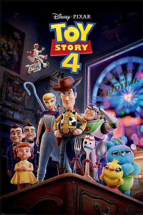 英國進口海報 PP34506 (玩具總動員4 Toy Story 4)