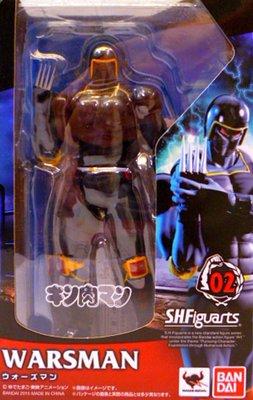 日本正版 萬代 S.H.Figuarts SHF 金肉人 筋肉人 戰爭人 可動 模型 公仔 日本代購