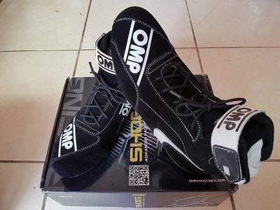 人身部品~全新正OMP FIRST-SFIA認證防火賽車鞋只要4500自取~~
