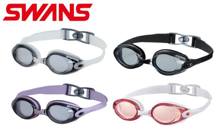 ~有氧小舖~日本 SWANS 後扣式 防霧休閒泳鏡 SWB-1 歐都納代理 日本製