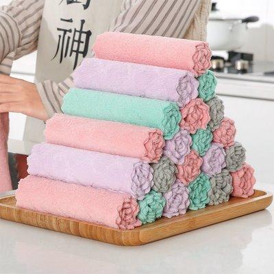 20條裝抹布家務清潔擦手巾吸水家用廚房洗碗巾百潔布不沾油擦桌布