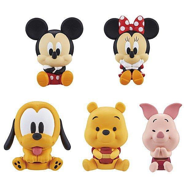 【動漫瘋】BANDAI 轉蛋 扭蛋 迪士尼好友公仔夾 全套5款 小熊維尼 米奇 米妮