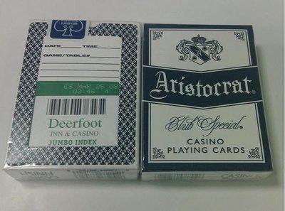 Deerfoot Casino 撲克牌 (綠背)