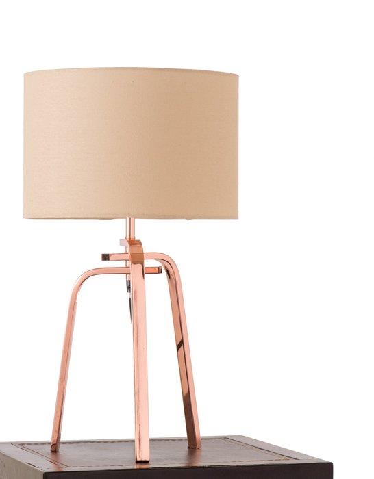 紅銅金屬桌燈-BNL00001
