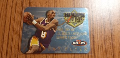 Kobe Bryant 1997 Hoops Airlines Frequent Flyer 第二年 卡況如圖