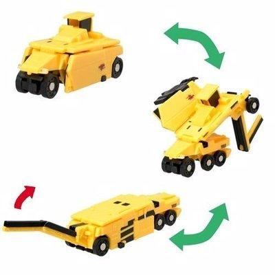 BANDAI VOOV噗噗變身車 -VM09 酒井重工業 TZ701-1壓路機 & ER552F刨路機