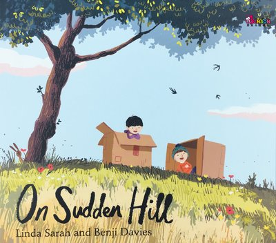 [邦森外文書] On Sudden Hill 突突山上的祕密 平裝本 班傑‧戴維斯 Benji Davies 得獎繪本