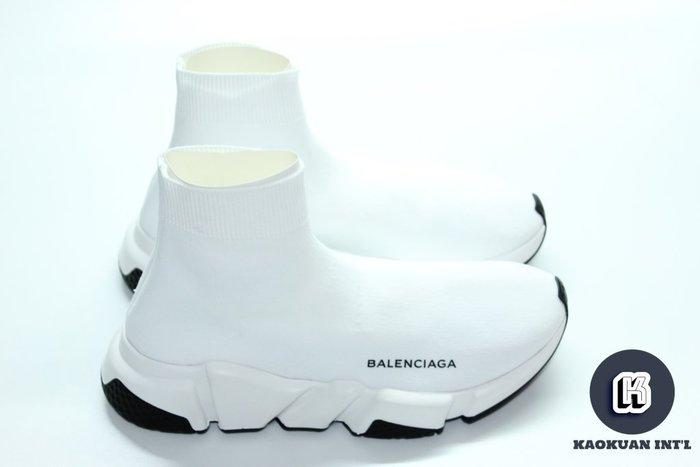 【高冠國際】現貨 正品 Balenciaga 巴黎世家 襪套 Speed Trainer Sock 白 黑 黑底 女鞋