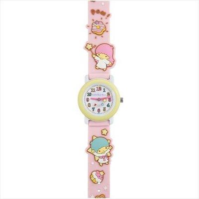 (現貨)全長21.5cm 行針 膠帶手錶 Sanrio Little Twin Stars 雙生兒 日本直送 全新品