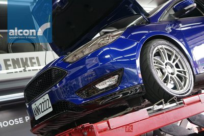FOCUS MK3 專用 ㊣英國頂級煞車系統 ALCON CAR98 四活塞卡鉗332mm套裝組 歡迎詢問 / 制動改