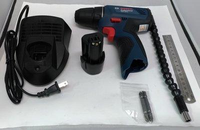鋰電電鑽 德國Bosch GSR-120Li 12V雙電池 紙盒簡配 充電電鑽/電動起子/電動工具 保固半年