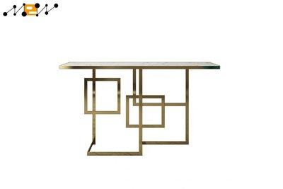 〈滿藝設計傢俬〉1264 新中式大理石玄關桌輕奢簡約現代ins玄關枱靠牆邊窄桌長條邊桌子 可量身訂做