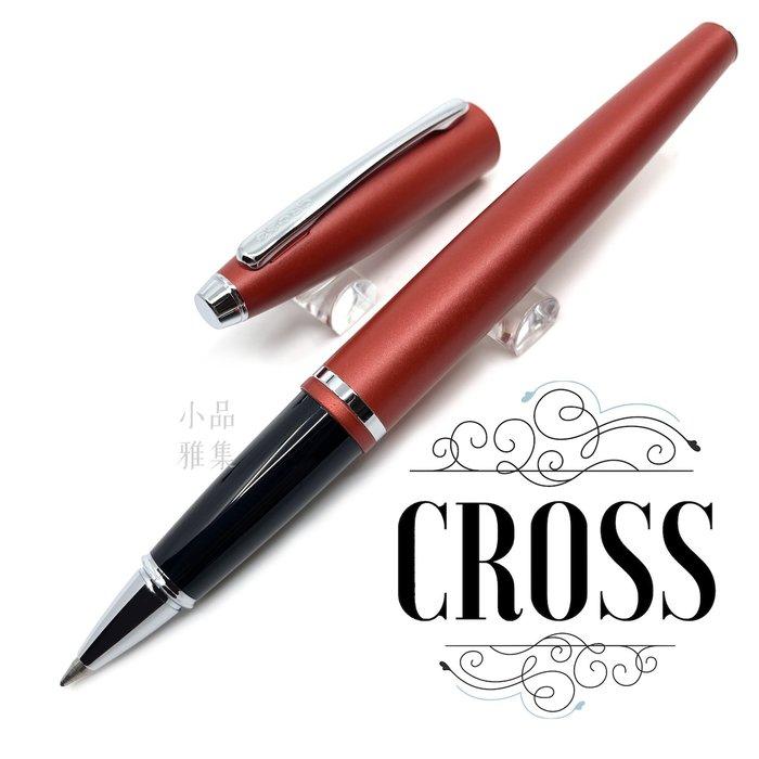 =小品雅集= Cross 高仕 凱樂系列 霧紅白夾 鋼珠筆
