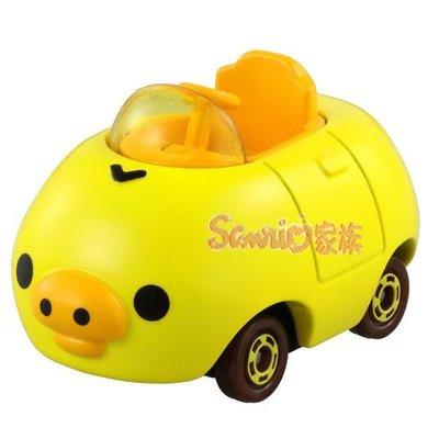 《東京家族》Dream TOMICA 多美夢幻版小汽車 拉拉熊 小雞車
