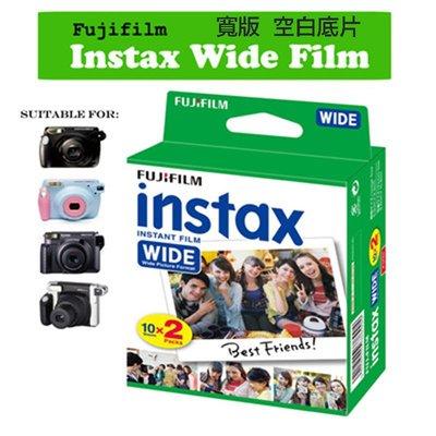 【eYe攝影】現貨 Fujifilm 富士 INSTAX 210 WIDE 拍立得 即可拍 寬版 空白底片 2入盒裝