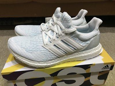 Adidas Ultraboost 3.0 Parley 環保材質 編織 慢跑鞋 冰晶藍 白藍 全新公司貨 CP9685