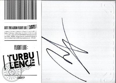 GOT7 / Flight Log:Turbulence - Vol 2(附:段宜恩親筆簽名)