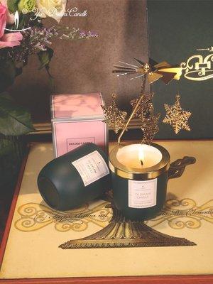 精油蠟燭熏香蠟燭無煙香味蠟燭杯助眠蠟燭大豆蠟杜松與薰衣草天然熏香