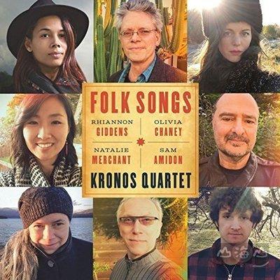 【美版】Folk Songs / 克羅諾斯四重奏 Kronos Quartet---7559793873
